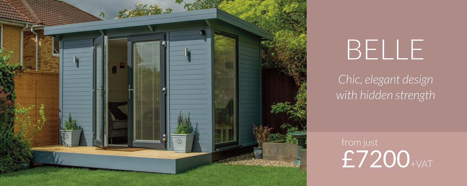 Insulated Garden Rooms Uk She Shed South East Smart