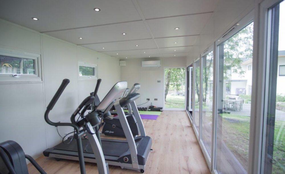 Garden Room gym interior