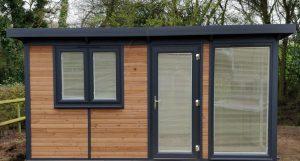 Timeless garden office - timber garden offices