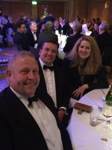 Smart at the Bury Free Press Business Awards