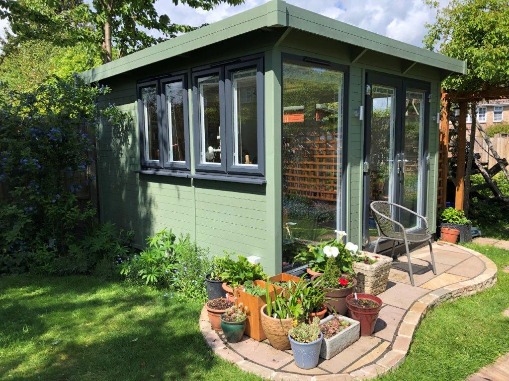 Garden Office Exterior