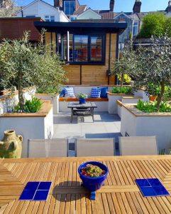 Stylish garden room