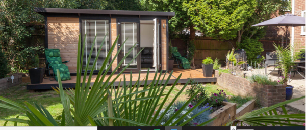 Key studio office in garden