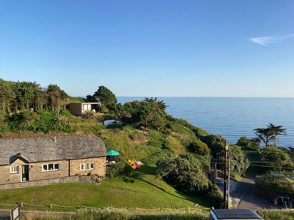 Beautiful Garden Rooms on Cornwall Coast
