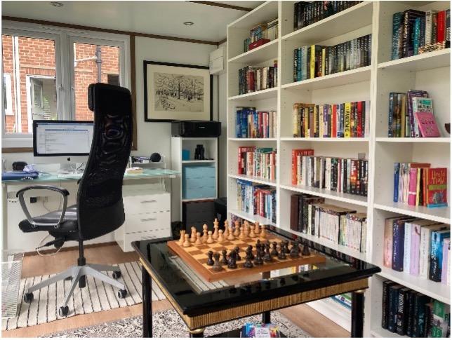 Garden Room Library