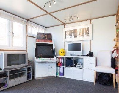 Games Room Inside Garden Office
