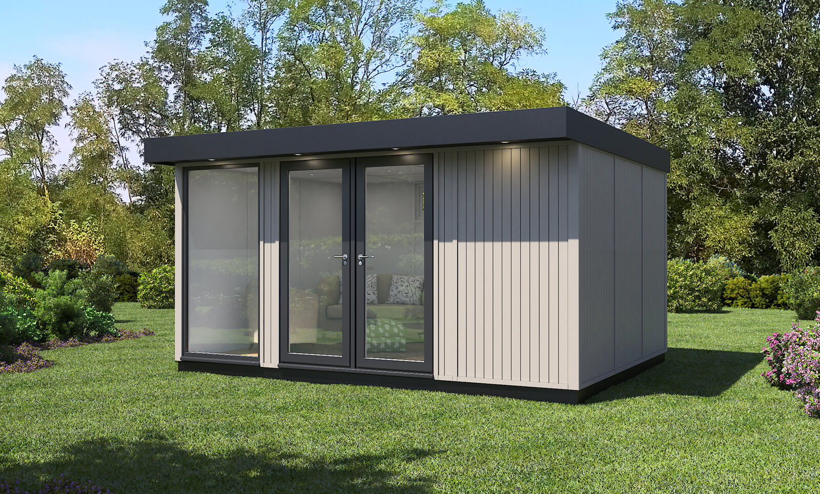 Evolve Office 4.3m x 3.2m in Emmerson Grey