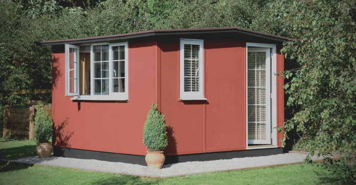 Smart Quarto is the ultimate garden office. Ideal garden room or studio.
