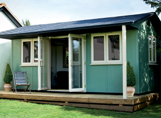 Classic garden offices classic range smart garden offices for The garden office