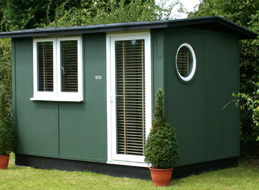 Smart Garden Offices Classic Quarto Garden Office
