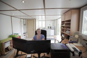 Consulting inside office