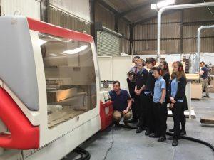 Thurston College visit Smart
