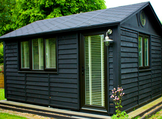 Smart garden offices the quarto suffolk barn for Garden office and storage