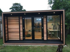 Timeless garden rooms - working from home