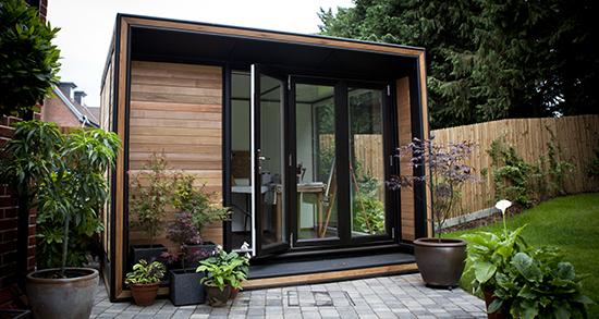 Garden offices four beautiful garden office ranges for Garden office wales