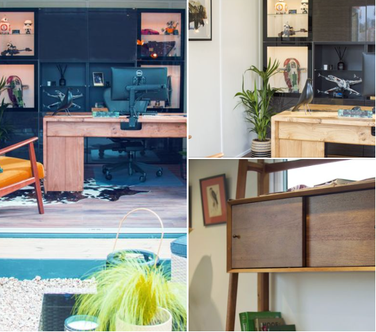 Wooden interior examples from SMART rooms