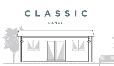 The Classic Garden Office Range from £4990