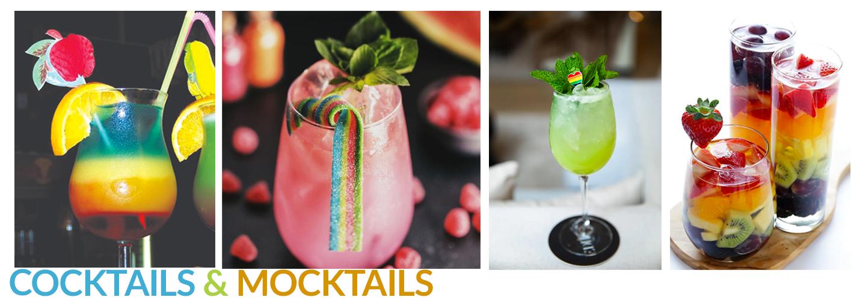 Pride Cocktails for Garden Room Celebrations