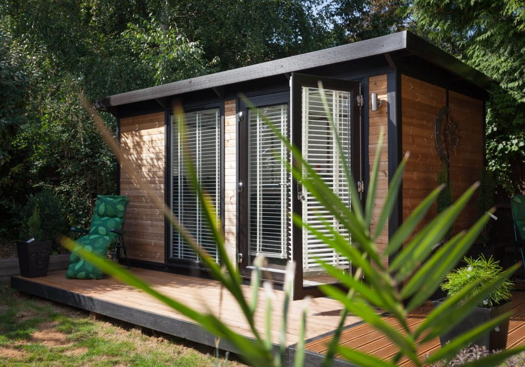 Exterior of Key Studio Range Garden Office