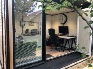 Cool garden office - garden rooms UK