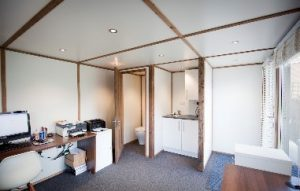 Garden office base - Crystal Property Cleaning Services