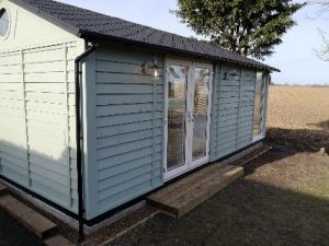 Garden office - Suffolk Barn