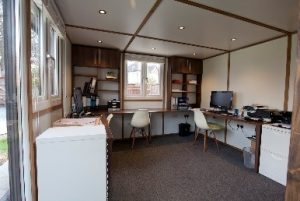 Garden office Suffolk - Crystal Property Cleaning Services