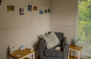 Affordable garden rooms - garden office interior